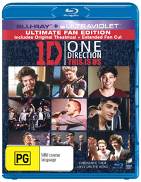 One Direction: This is Us on Blu-ray, UV