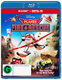 Planes 2: Fire and Rescue on Blu-ray