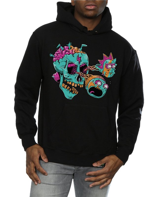 Rick and Morty: Eyeball Skull Hoodie (XX-Large)