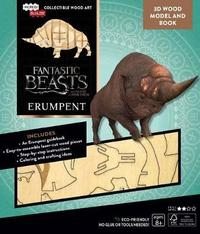 IncrediBuilds: Fantastic Beasts And Where To Find Them: Erumpent 3D Wood Model And Book