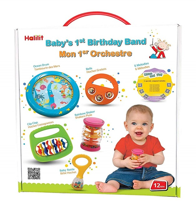 762df56a0 Halilit - Babys First Birthday Band | Toy | at Mighty Ape NZ