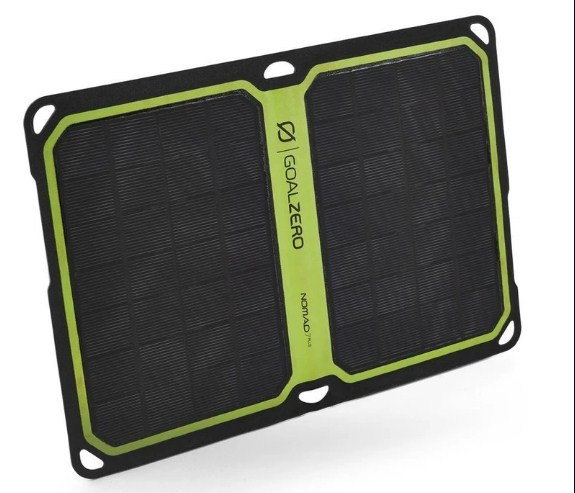 Goal Zero Nomad 7 Plus Solar Panel Recharger, Nomad 7 Plus, Monocrystalline