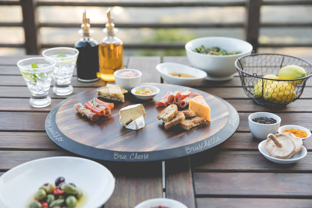 Picnic Time: Lazy Susan Serving Tray image