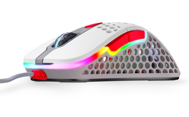 XTRFY M4 Ultra-Light RGB Gaming Mouse (Retro) for PC