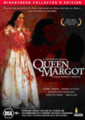 Queen Margot on DVD