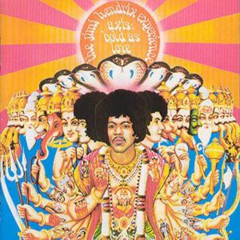 Axis : Bold As Love - Remastered LP 180 Gram Vinyl Limited Edition by The Jimi Hendrix Experience image