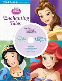 3-In-1 Read-Along Storybook: Enchanting Tales by Disney image