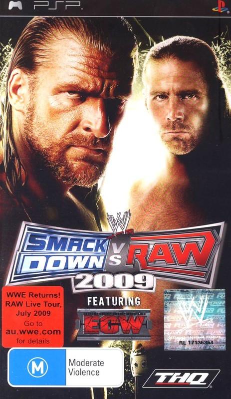 WWE SmackDown! vs. RAW 2009 (Platinum) for PSP