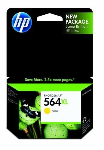 HP 564XL High Yield Yellow Ink Cartridge