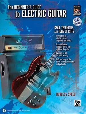 Beginners Guide to Electric Guitar: Book & CD by Alfred Publishing