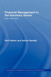 Financial Management in the Voluntary Sector by Paul Palmer image