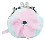 Pink Poppy: High Tea Princess Shoulder Bag - Mint