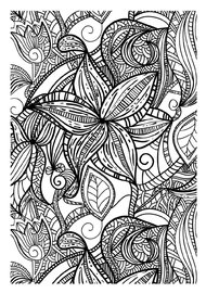 Color Therapy An Anti Stress Coloring Book By Richard Merritt