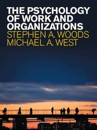 The Psychology of Work and Organizations by . Woods image