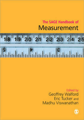 The SAGE Handbook of Measurement image