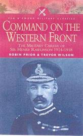 Command on the Western Front by Robin Prior image