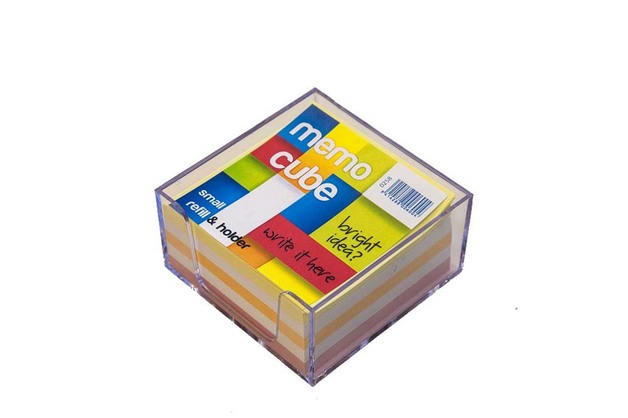 Memo Cube Small Complete - Assorted Colours