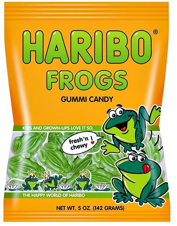 Haribo Frogs 142gms