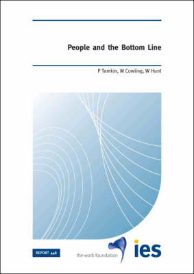 People and the Bottom Line by Penny Tamkin image