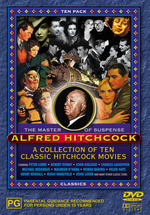 Alfred Hitchcock (10 Movie Pack) on DVD