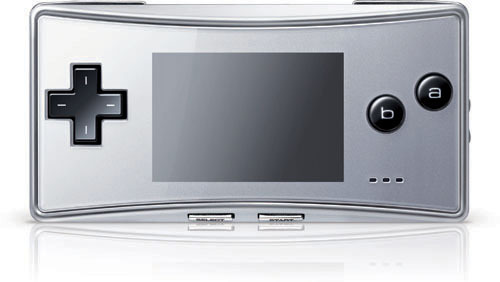 Game Boy Micro (Platinum Silver) for Game Boy Advance