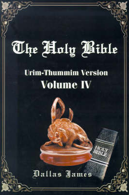 Holy Bible by Dallas James