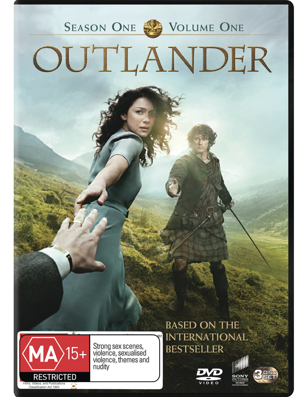 Outlander - Season 1: Volume 1 on DVD image
