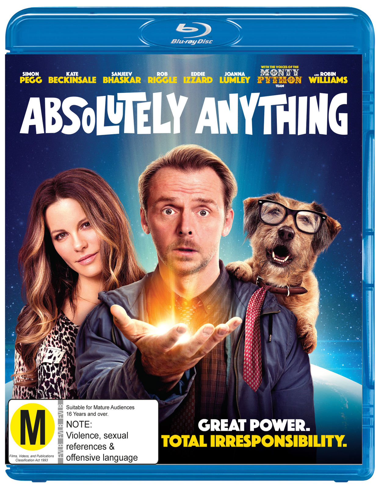 Absolutely Anything on Blu-ray image