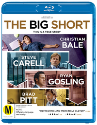 The Big Short on Blu-ray