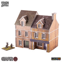 ColorED Scenery: Europe at War Coiffure Terrace (15mm)