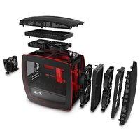 NZXT Manta Mini-ITX Case - Black/Red image