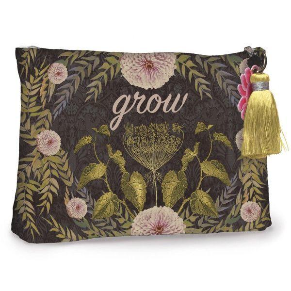 Papaya Large Cosmetics Pouch - Grow