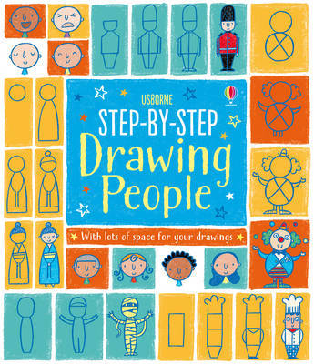 Step-by-Step Drawing People by Fiona Watt image