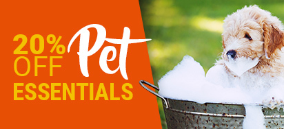 20% off Pet Essentials!