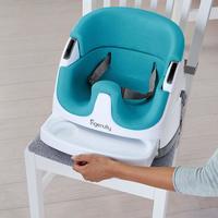 Ingenuity: Baby Base 2-in-1 Seat - Peacock Blue