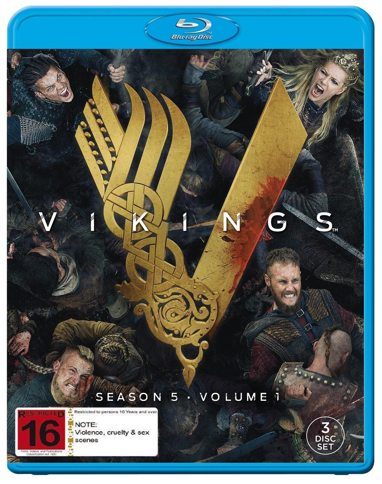 Vikings - Season 5 Volume 1 on Blu-ray image