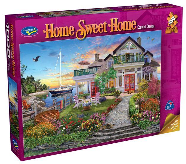 Holdson: 1000 Piece Puzzle - Home Sweet Home S2 (Coastal Escape)