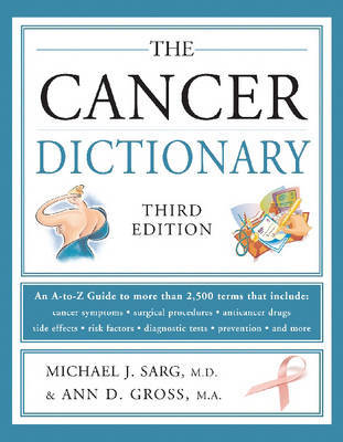 The Cancer Dictionary by Michael J. Sarg image