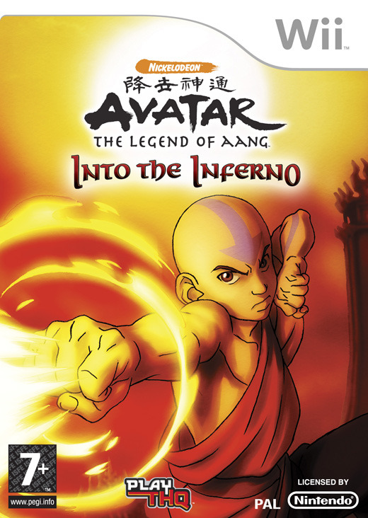 Avatar: The Legend of Aang - Into the Inferno for Wii