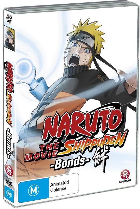 Naruto Shippuden Movie 2: Bonds on DVD