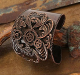 Steampunk - Antique Copper Cuff (Costume)