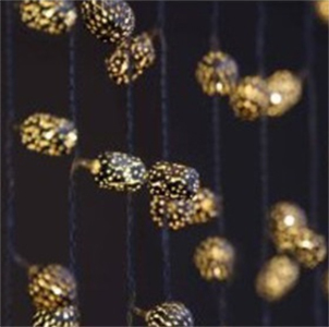 Decorative String Lights Nz : Delight Decor: Chain Curtain String Lights - Maroq at Mighty Ape NZ