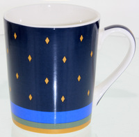 Casa Domani: Saree - Conical 400ml Mugs (4 Set) image