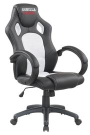 Gorilla Gaming Chair - White & Black for