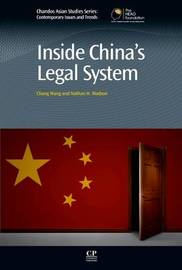 Inside China's Legal System by WANG