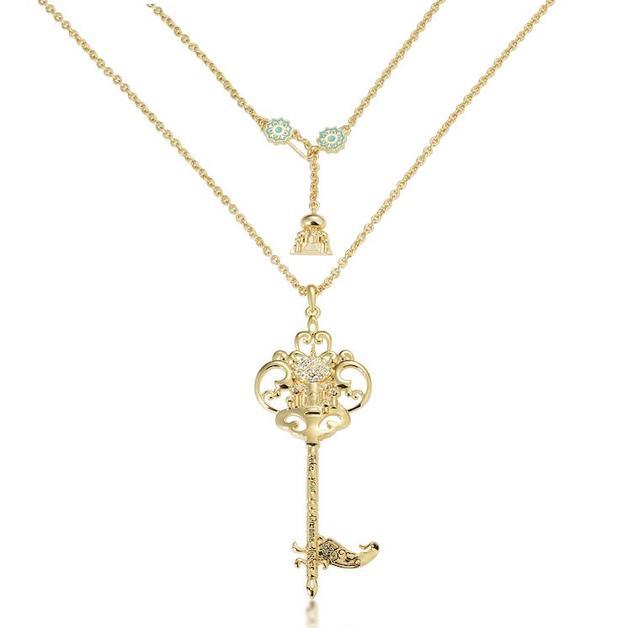 Couture Kingdom: Disney - Princess Jasmine Necklace (Yellow Gold)
