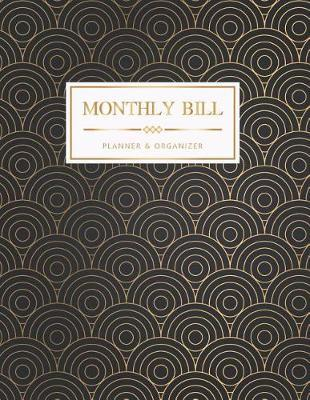 Monthly Bill Planner and Organizer by Michelia Creations