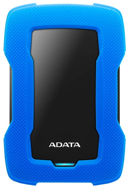 4TB External HDD ADATA USB3.1 Durable Blue