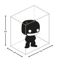 "Ultimate Guard: POP! Protective Case - Big 6"" (5-Pack) image"