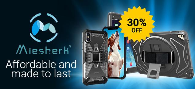 Miesherk Premium Ipad&Iphone Case SALE! - 30% Off!